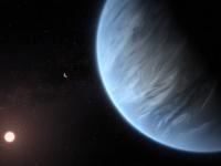 地球から110光年先のスーパーアースに液状の水
