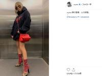 浜崎あゆみ公式Instagramより