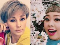 左:梅宮アンナInstagramより/右:渡辺直美Instagramより