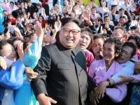 北朝鮮の金正恩労働党委員長(提供:KNS/KCNA/AFP/アフロ)