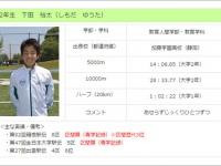 青山学院大学陸上競技部公式サイトより。