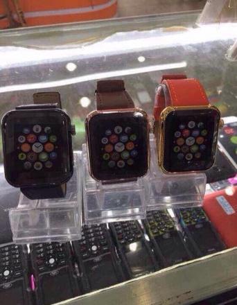 中国で販売されているApple Watchのパクリ品
