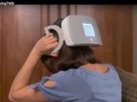 頭蓋磁気刺激(sTMS)装置「SpringTMS」(画像は同社のYouTubeより)