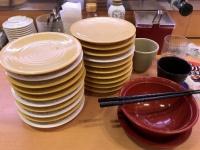 かっぱ寿司食べ放題の様子