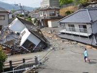 熊本地震、益城町で大きな被害(写真:つのだよしお/アフロ)
