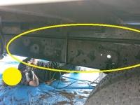 大型車の下回り塗装って、すごく大変な作業!