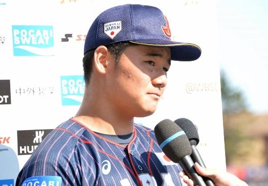 U18W杯での清宮幸太郎選手(写真:日刊スポーツ/アフロ)