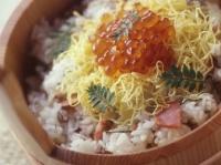 秋鮭ちらし寿司