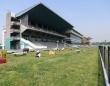 名古屋競馬場のスタンド(Gnsinさん撮影、Wikimedia Commons