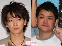 佐藤健(左)と千鳥・ノブ