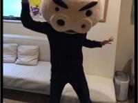 ムトウユージ公式Twitter(@yuji_ultimate)より。「安心してください、ちゃんと神谷くんがかぶってます」とのこと。