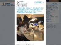 橋本環奈公式Twitter(@H_KANNA_0203)より
