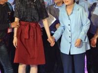 パク大統領とキム・ヨナ