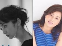 左:斉藤由貴オフィシャルブログより/右:藤吉久美子オフィシャルブログより