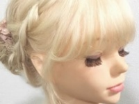 【編み込みで作る簡単まとめ髪】 浴衣にオススメヘアアレンジ!!