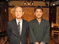 左:鈴木邦男氏、右:上祐史浩氏