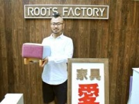 ROOTS FACTORY代表 阪井信明氏(ROOTS FACTORY 東京店にて)