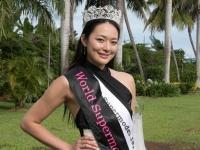 「World Supermodel Production」でグランプリを受賞した日本代表の結子