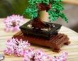 水もいらないし枯れない。LEGOで作る盆栽キットは花の代わりにカエルがカモフラージュ