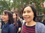 巧みな犯行…! 完璧なチームワークでスリをする女性集団。