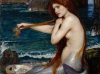 ※ジョン・ウィリアム・ウォーターハウスによる人魚の絵画 「Wikipedia」より引用