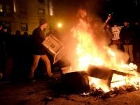 ドナルド・トランプ大統領就任に対するアメリカ国内の抗議デモの様子(写真:ロイター/アフロ)