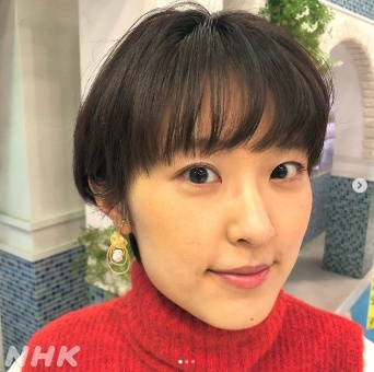 近江友里恵アナ ※画像は『あさイチ』の公式インスタグラム『@nhk_asaichi』より