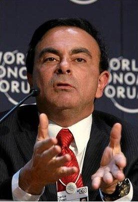 カルロス・ゴーン氏 画像は「Wikipedia」より引用
