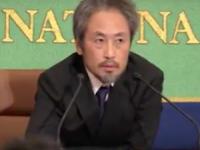 会見する安田氏(日本記者クラブ公式HPより)