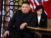米朝首脳会談に臨む北朝鮮の金正恩朝鮮労働党委員長(写真:The New York Times/Redux/アフロ)