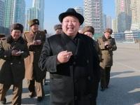 北朝鮮 金正恩氏(写真:KCNA/新華社/アフロ)
