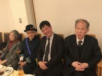 左から樹木希林氏、水道橋博士氏、筆者・昼間たかし、鈴木邦男氏