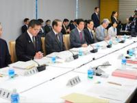 日本教育再生機構のフェイスブックに掲載された「教育再生実行会議 提言フォローアップ会合」の様子