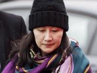 ファーウェイ副会長兼CFOの孟晩舟被告(写真:AP/アフロ)