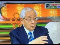 TBS『ひるおび!』出演時の田崎史郎氏(16年12月27日放送より)