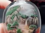 もはやプリントしたとしか思えない…!瓶の内側から絵や書を描く中国の職人技が凄い