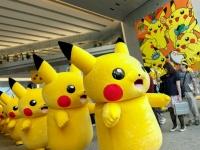 横浜・みなとみらいで行われたイベント「Pokemon GO PARK」の様子(写真:Rodrigo Reyes Marin/アフロ)