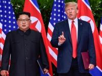 金正恩朝鮮労働党委員長とドナルド・トランプ米大統領(ロイター/アフロ)