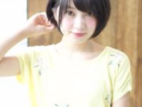 小顔効果はシルエットに秘訣アリ♡夏に向けてふんわり小顔ショートに!