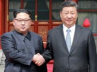 北朝鮮・金正恩氏が訪中 習主席と会談(KNS/KCNA/AFP/アフロ)