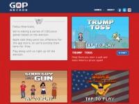 『GOP Arcade』シリーズ公式サイトより。