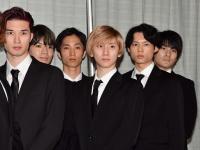 SixTONES(左からジェシー、髙知、田中、京本、松村、森本)