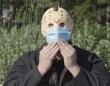 『13日の金曜日』のジェイソンが、ニューヨークでマスク着用を呼びかける(アメリカ)