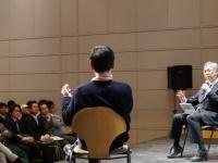 DMM亀山敬司×やまもといちろうスペシャルトーク第二弾として行われた就活生向けイベントの模様