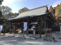 千栗八幡宮拝殿 「Wikipedia」より引用