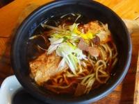 琉球ソーキ醤油拉麺(650円)