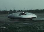 """アメリカの極秘プロジェクト""""空飛ぶ円盤計画""""のフライングテスト映像"""