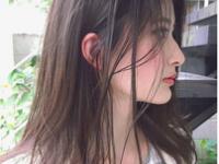 【横顔美人になりたい!】横顔に映える、透明キレイめ夏カラーを探る♡