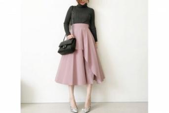 女っぷりUPは、鉄板のピンク×グレーでつくる #東京365日コーデ