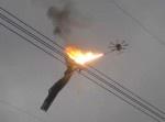 """凶悪すぎる… 中国では""""火炎放射器""""装備のドローンが使用されていた"""